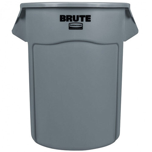 Rubbermaid BRUTE Round Container 208.2 L Grey