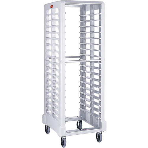 Rubbermaid Max System End Loader Rack W33cm 18 Slots White