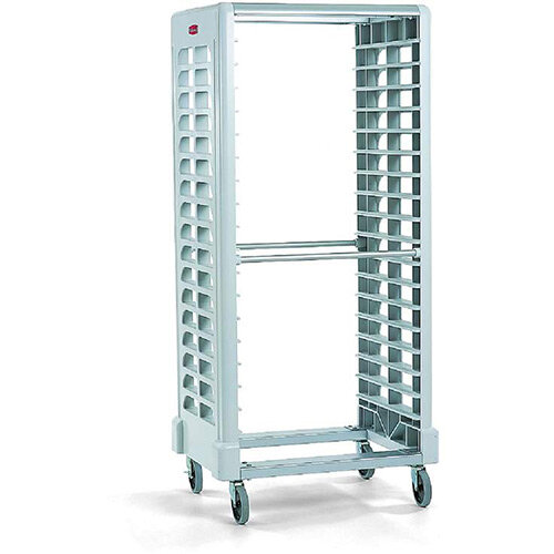 Rubbermaid Max System End Loader Rack W46.3cm 18 Slots White