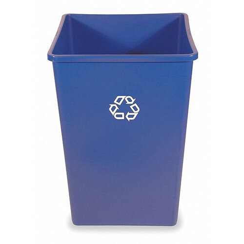 Rubbermaid Square Container 132.5L Blue