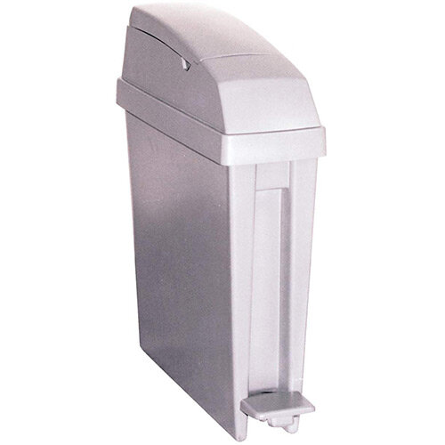 Rubbermaid San1Ped 20L 580x490x155mm Pedal Operated Bin White
