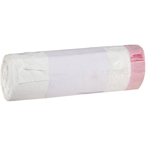 Rubbermaid Bin Liners with Drawstring for San1Ped x 15 bags/roll 710x615mm