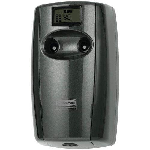 Rubbermaid Microburst Duet Air Freshener Dispenser Black &Black Pearl