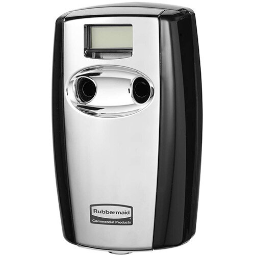 Rubbermaid Microburst Duet Air Freshener Dispenser Black &Chrome