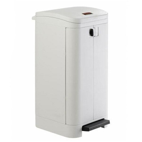 Rubbermaid Step On Waste Container 100L White