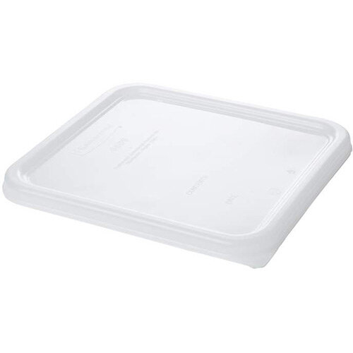 Rubbermaid Small Lid for 3.8L &7.6L Space Saving Square Food Storage Containers White