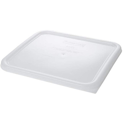 Rubbermaid Large Lid for 11.4L Space Saving Square Food Storage Containers White
