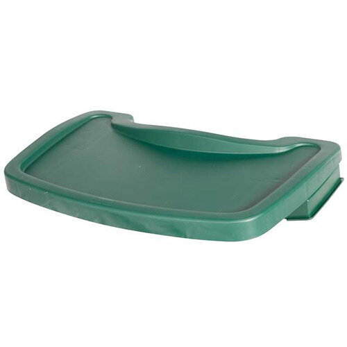 Rubbermaid Sturdy Baby Chair Tray Green