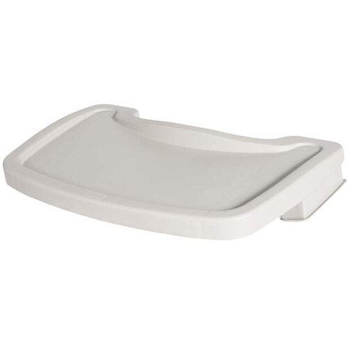 Rubbermaid Sturdy Baby Chair Tray Platinum