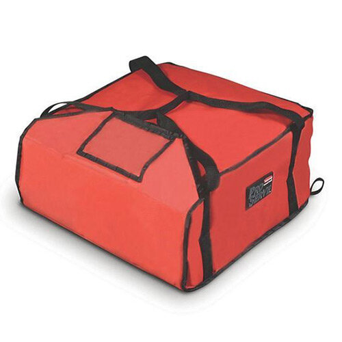Rubbermaid Thermal Performance Medium Pizza Delivery Bag Fits 4x30cm or 3x35cm Pizzas Red