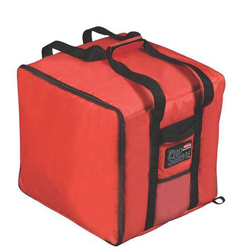 Rubbermaid Thermal Performance Large Pizza Catering Bag 105L Red