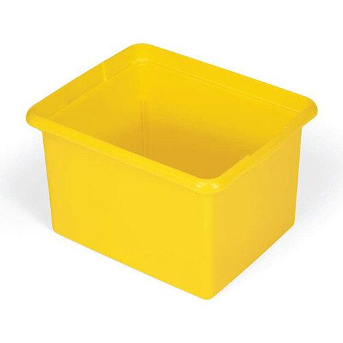 Rubbermaid 28L Polypropylene Organising Box Yellow