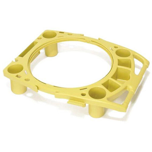 Rubbermaid BRUTE Rim Caddy Yellow
