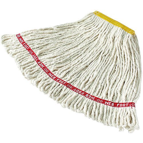 Rubbermaid Web Foot Wet Mop Webfoot Cotton 300g White