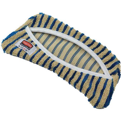 Rubbermaid HYGEN Scrubber Cover Mop Head for Microfiber Flexi Mop Frame Yellow