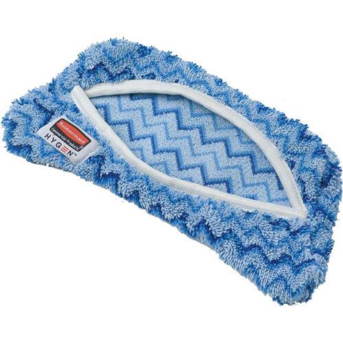 Rubbermaid HYGEN Damp Cleaning Cover Mop Head for Microfiber Flexi Mop Frame Blue