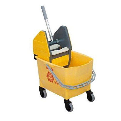 Rubbermaid 25L Combo Bravo Mop Bucket with Wringer Yellow