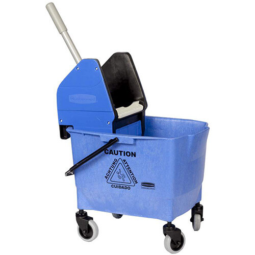 Rubbermaid 25L Combo Bravo Mop Bucket with Wringer Blue