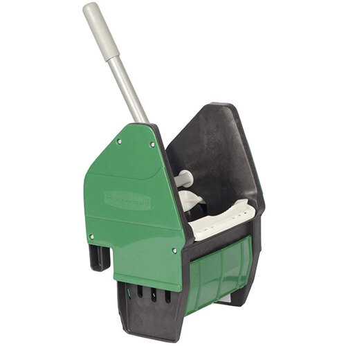 Rubbermaid Mop Bucket Down Pressure Wringer Green