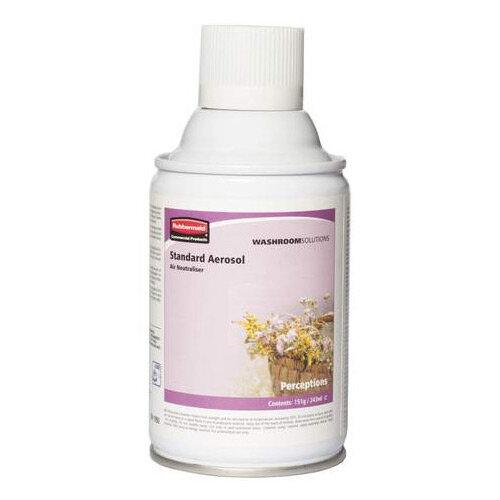 Rubbermaid Microburst 3000 243ml LED &LCD Aerosol Air Freshener Dispenser Refill Perceptions 243ml