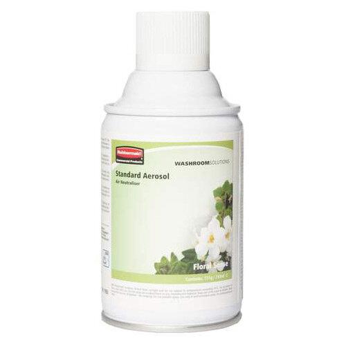 Rubbermaid Microburst 3000 243ml LED &LCD Aerosol Air Freshener Dispenser Refill Floral Sense 243ml