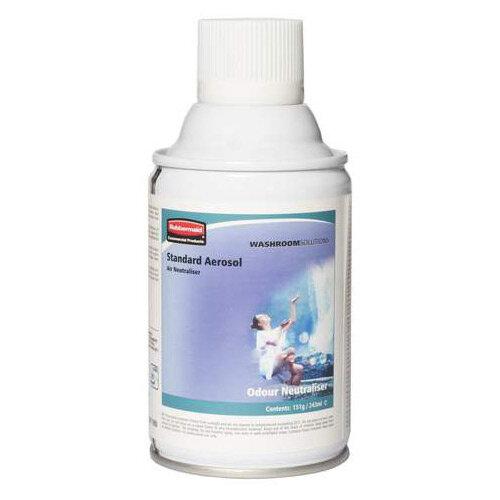 Rubbermaid Microburst 3000 243ml LED &LCD Aerosol Air Freshener Dispenser Refill Odour Neutraliser 243ml