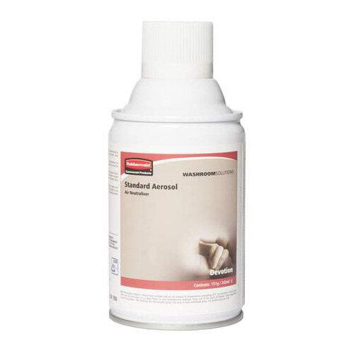 Rubbermaid Microburst 3000 243ml LED &LCD Aerosol Air Freshener Dispenser Refill Devotion 243ml