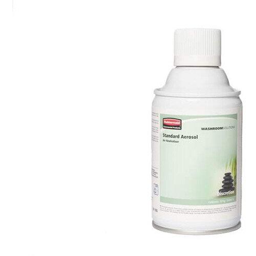 Rubbermaid Microburst 3000 243ml LED &LCD Aerosol Air Freshener Dispenser Refill Discretion 243ml