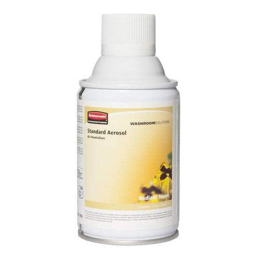 Rubbermaid Microburst 3000 243ml LED &LCD Aerosol Air Freshener Dispenser Refill Radiant Sense 243ml