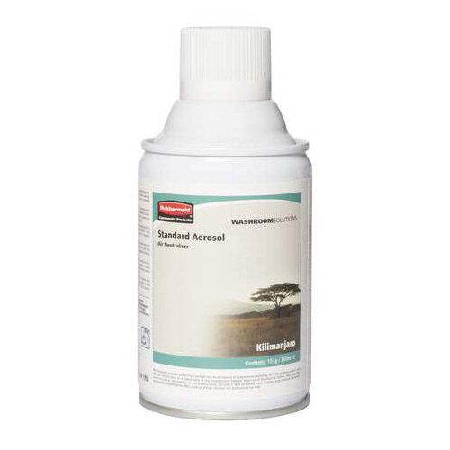 Rubbermaid Microburst 3000 243ml LED &LCD Aerosol Air Freshener Dispenser Refill Kilimanjaro 243ml