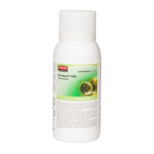 Rubbermaid Microburst 3000 75ml LCD &LumeCell Aerosol  Air Freshener Dispenser Refill Reflection 75ml