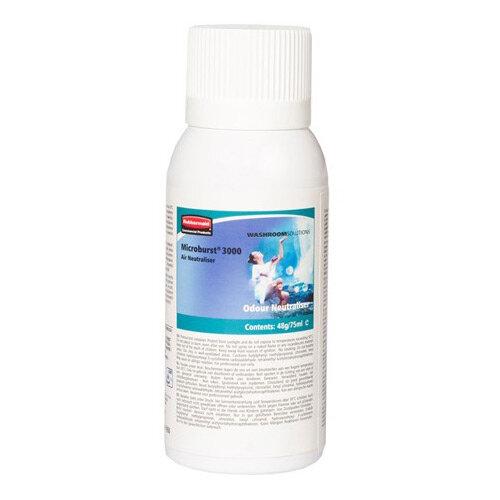 Rubbermaid Microburst 3000 75ml LCD &LumeCell Aerosol  Air Freshener Dispenser Refill Odour Neutraliser 75ml