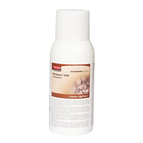 Rubbermaid Microburst 3000 75ml LCD &LumeCell Aerosol  Air Freshener Dispenser Refill Essence of Oudh 75ml