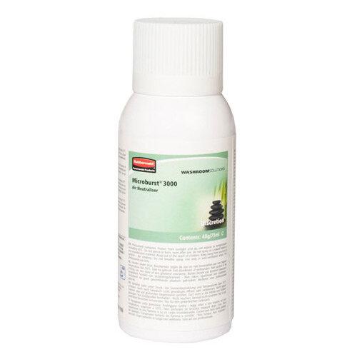 Rubbermaid Microburst 3000 75ml LCD &LumeCell Aerosol  Air Freshener Dispenser Refill Discretion 75ml