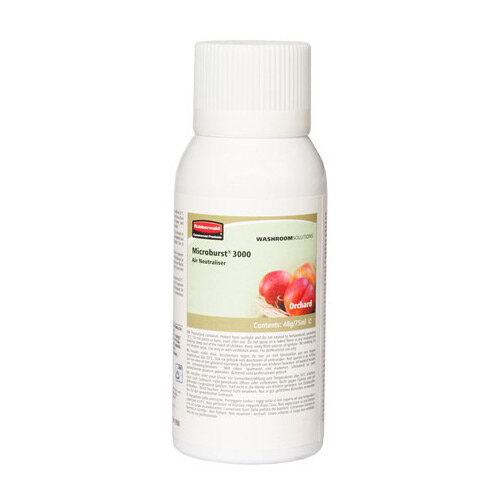 Rubbermaid Microburst 3000 75ml LCD &LumeCell Aerosol  Air Freshener Dispenser Refill Orchard 75ml