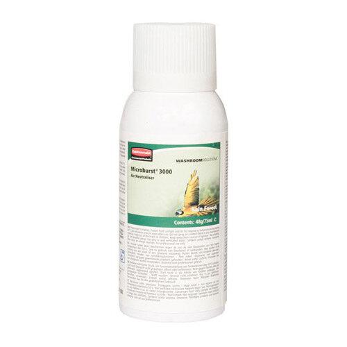 Rubbermaid Microburst 3000 75ml LCD &LumeCell Aerosol  Air Freshener Dispenser Refill Rainforest 75ml