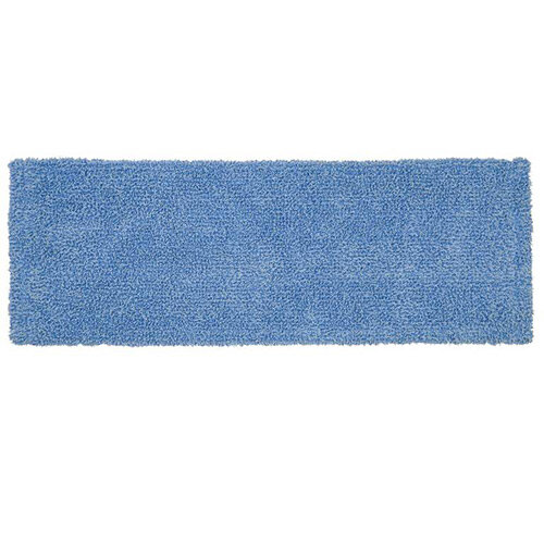 Rubbermaid Cleaning &Disinfecting Mop Head With Flaps &Pockets For R050840 Blue