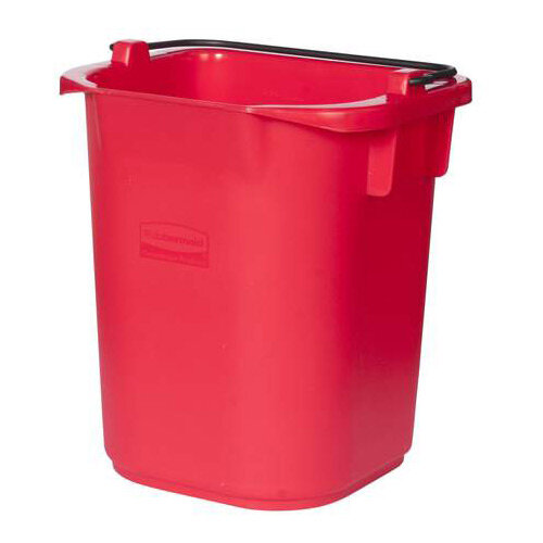 Rubbermaid 5L Bucket with Graduation Red