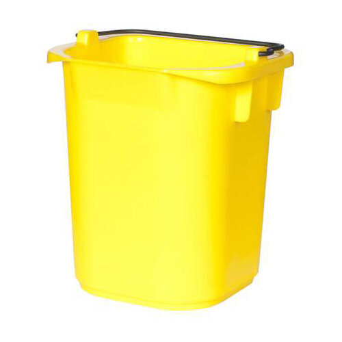 Rubbermaid 5L Bucket with Graduation Yellow