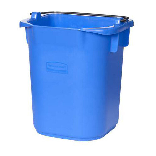 Rubbermaid 5L Bucket with Graduation Blue