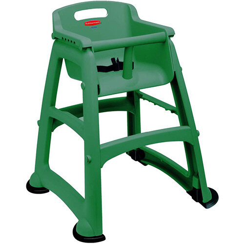 Rubbermaid Sturdy Baby Chair with Feet Green