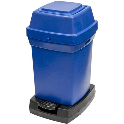 Rubbermaid Nap2 65L Pedal Operated Sanitary Nappy Bin 770x410x470mm Blue