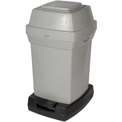 Rubbermaid Nap2 65L Pedal Operated Sanitary Nappy Bin 770x410x470mm Grey