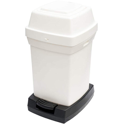 Rubbermaid Nap2 65L Pedal Operated Sanitary Nappy Bin 770x410x470mm White