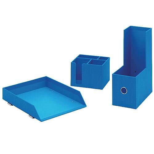 Rexel JOY Desk Accessory Bundle Blue 2104197