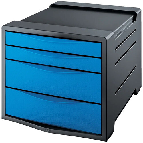 Rexel Choices Drawer Cabinet Blue 2115611