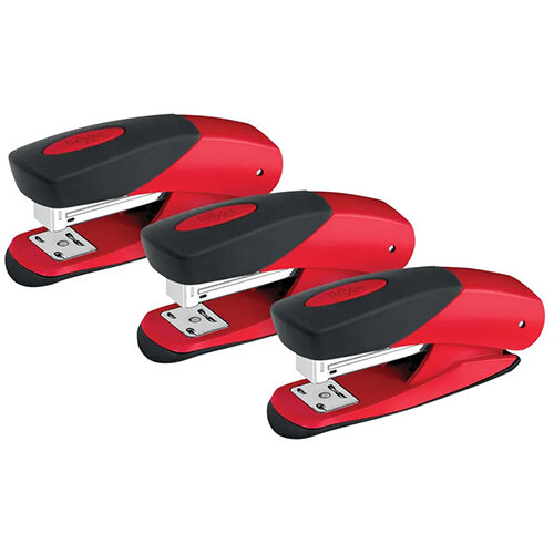 Rexel Choices Matador Stapler Red 3 For The Price of 2 RX810207