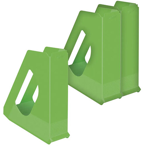 Rexel Choices Magazine File Green 3 For The Price of 2 RX810218
