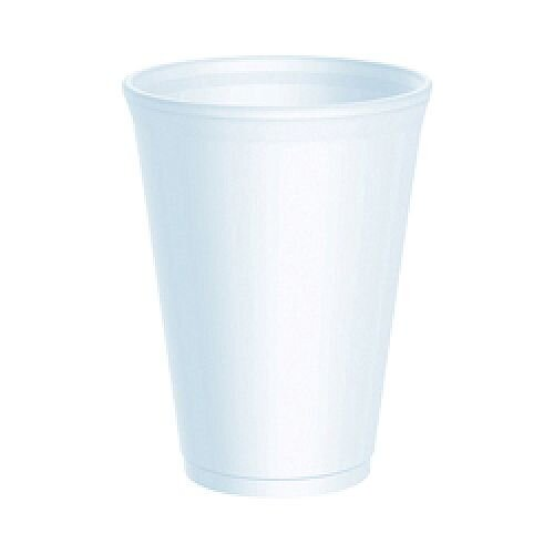Smooth Insulated Cups 10oz White (20 Pack) RY30110