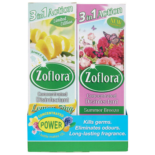 Zoflora 3-in-1 Concentrated Disinfectant 250ml Pack of 8 20220